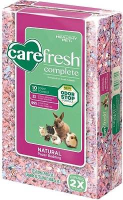 CareFresh Complete Small Animal Paper Bedding, Confetti, 23-L