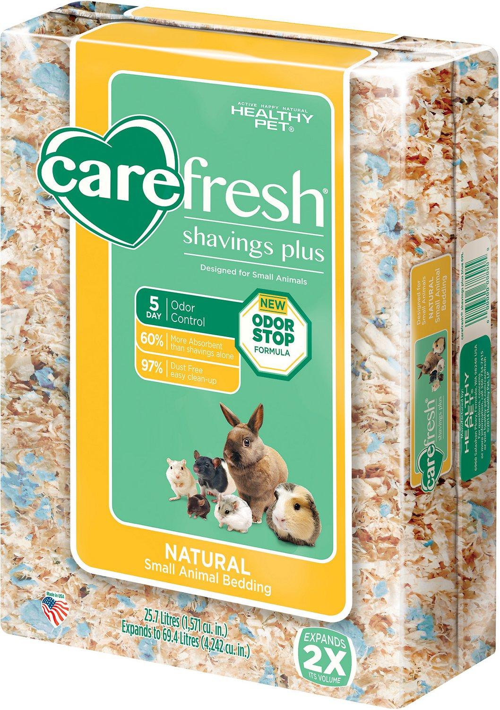 CareFresh Shavings Plus Small Animal Bedding, 69.4-L