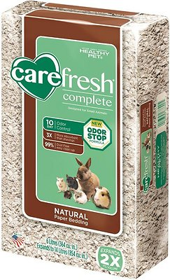 CareFresh Complete Small Animal Paper Bedding, Natural