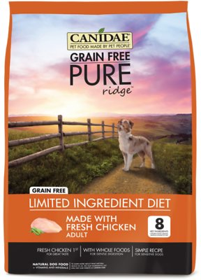 CANIDAE Grain-Free PURE Ridge Formula with Fresh Chicken Limited Ingredient Adult Dry Dog Food
