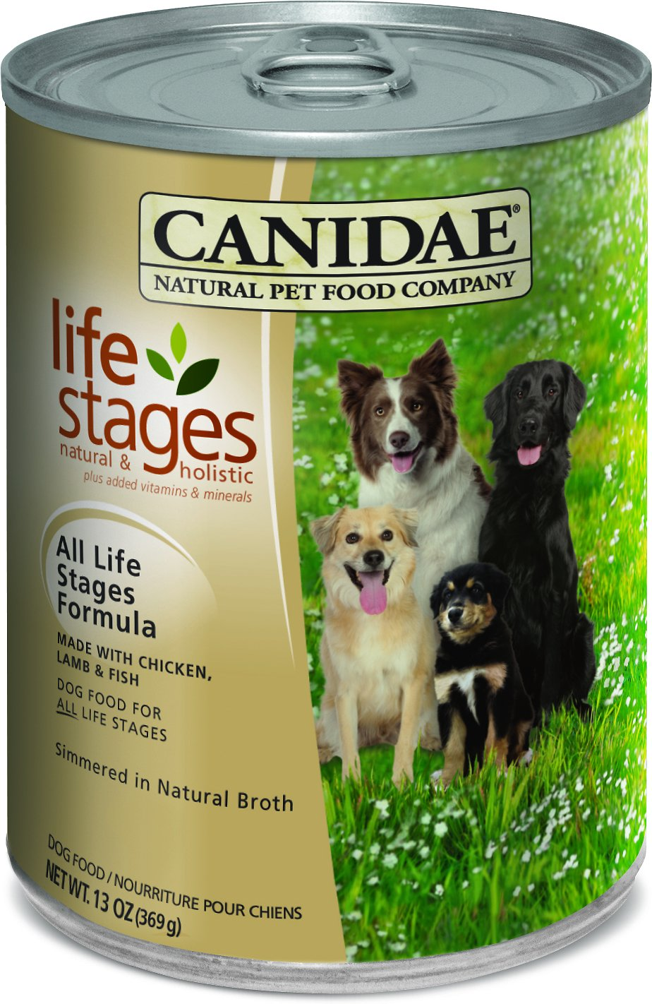 CANIDAE Life Stages All Life Stages Formula Canned Dog Food, 13-oz