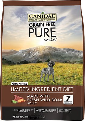 CANIDAE Grain-Free PURE Wild with Wild Boar Limited Ingredient Diet Adult Dry Dog Food