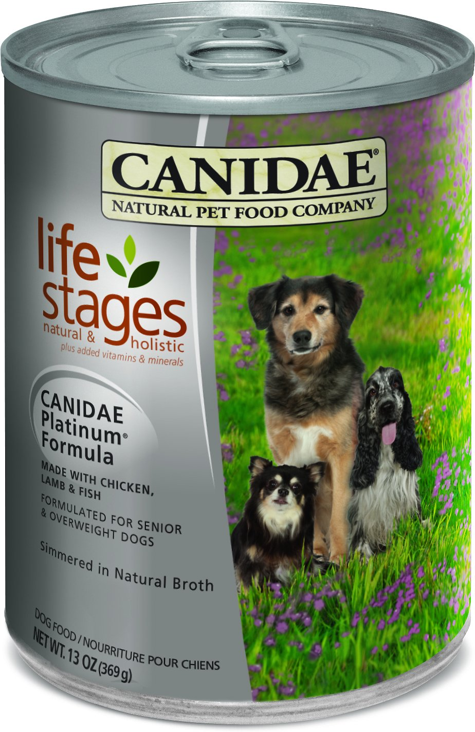 CANIDAE Life Stages Platinum Formula Canned Dog Food, 13-oz