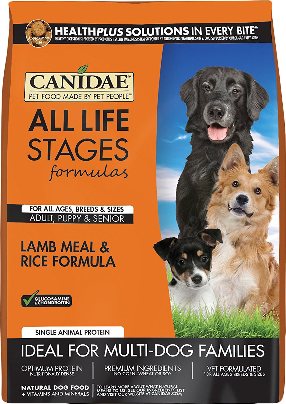 CANIDAE All Life Stages Lamb Meal & Rice Formula Dry Dog Food Image