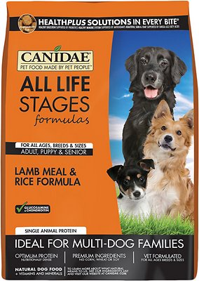 CANIDAE All Life Stages Lamb Meal & Rice Formula Dry Dog Food
