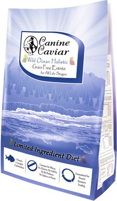 Canine Caviar Limited Ingredient Diet Wild Ocean Holistic Entrée All Life Stages Grain-Free Dry Dog Food, 4.4-lb bag