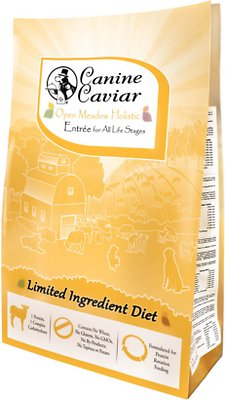 Canine Caviar Limited Ingredient Diet Open Meadow Holistic Entrée All Life Stages Dry Dog Food, 4.4-lb bag