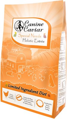 Canine Caviar Limited Ingredient Diet Special Needs Holistic Entrée Dry Dog Food, 4.4-lb bag