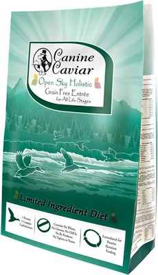 Canine Caviar Limited Ingredient Diet Open Sky Holistic Entrée All Life Stages Grain-Free Dry Dog Food, 22-lb