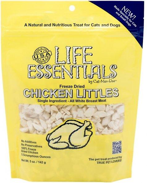 Life Essentials Chicken Littles Freeze-Dried Cat & Dog Treats, 5-oz bag