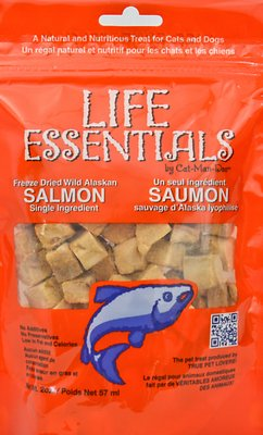 Life Essentials Wild Alaskan Salmon Freeze-Dried Cat & Dog Treats