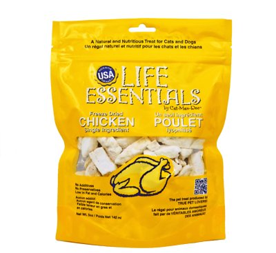 Life Essentials Chicken Freeze-Dried Cat & Dog Treats