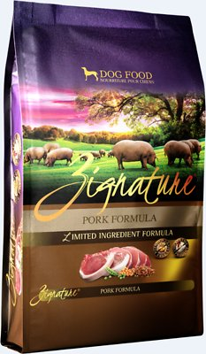 Zignature Pork Limited Ingredient Formula Grain-Free Dry Dog Food, 4-lb bag
