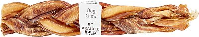"Bully Sticks Braided Bully Sticks 9"" Dog Treats"