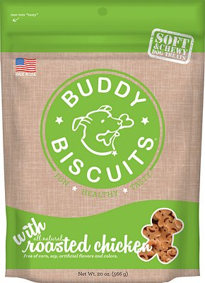 Buddy Biscuits with Roasted Chicken Soft & Chewy Dog Treats