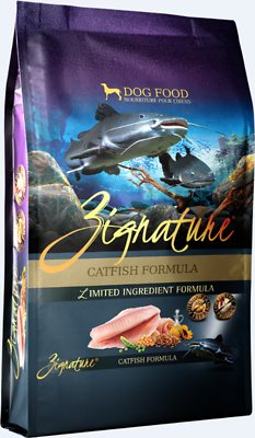 Zignature Catfish Limited Ingredient Formula Grain-Free Dry Dog Food, 13.5-lb bag