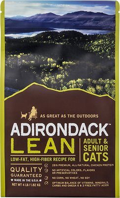 Adirondack Lean Adult & Senior Recipe Dry Cat Food
