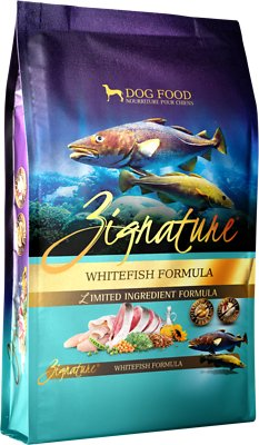 Zignature Whitefish Limited Ingredient Formula Grain-Free Dry Dog Food, 27-lb bag
