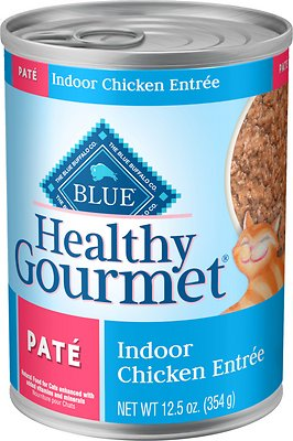 Blue Buffalo Healthy Gourmet Pate Chicken Entree Indoor Adult Canned Cat Food