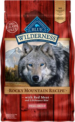 Blue Buffalo Wilderness Rocky Mountain Recipe with Red Meat Small Breed Grain-Free Dry Dog Food