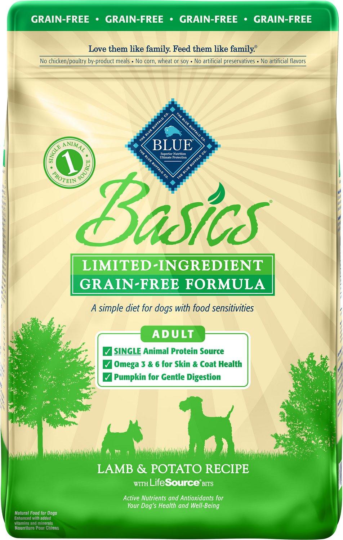 Blue Buffalo Basics Limited Ingredient Grain-Free Formula Lamb & Potato Recipe Adult Dry Dog Food Image