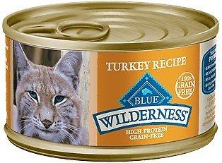 Blue Buffalo Wilderness Turkey Grain-Free Canned Cat Food
