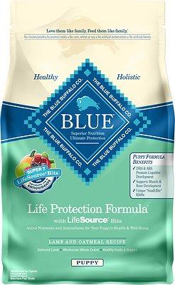 Blue Buffalo Life Protection Formula Puppy Lamb & Oatmeal Recipe Dry Dog Food