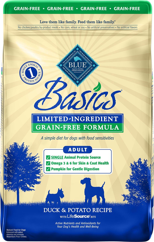 Blue Buffalo Basics Limited Ingredient Grain-Free Formula Duck & Potato Recipe Adult Dry Dog Food Image