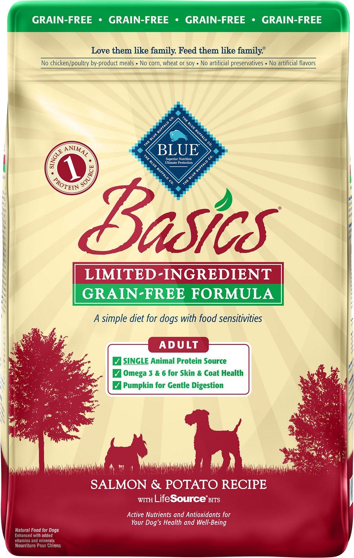 Blue Buffalo Basics Limited Ingredient Grain-Free Formula Salmon & Potato Recipe Adult Dry Dog Food Image
