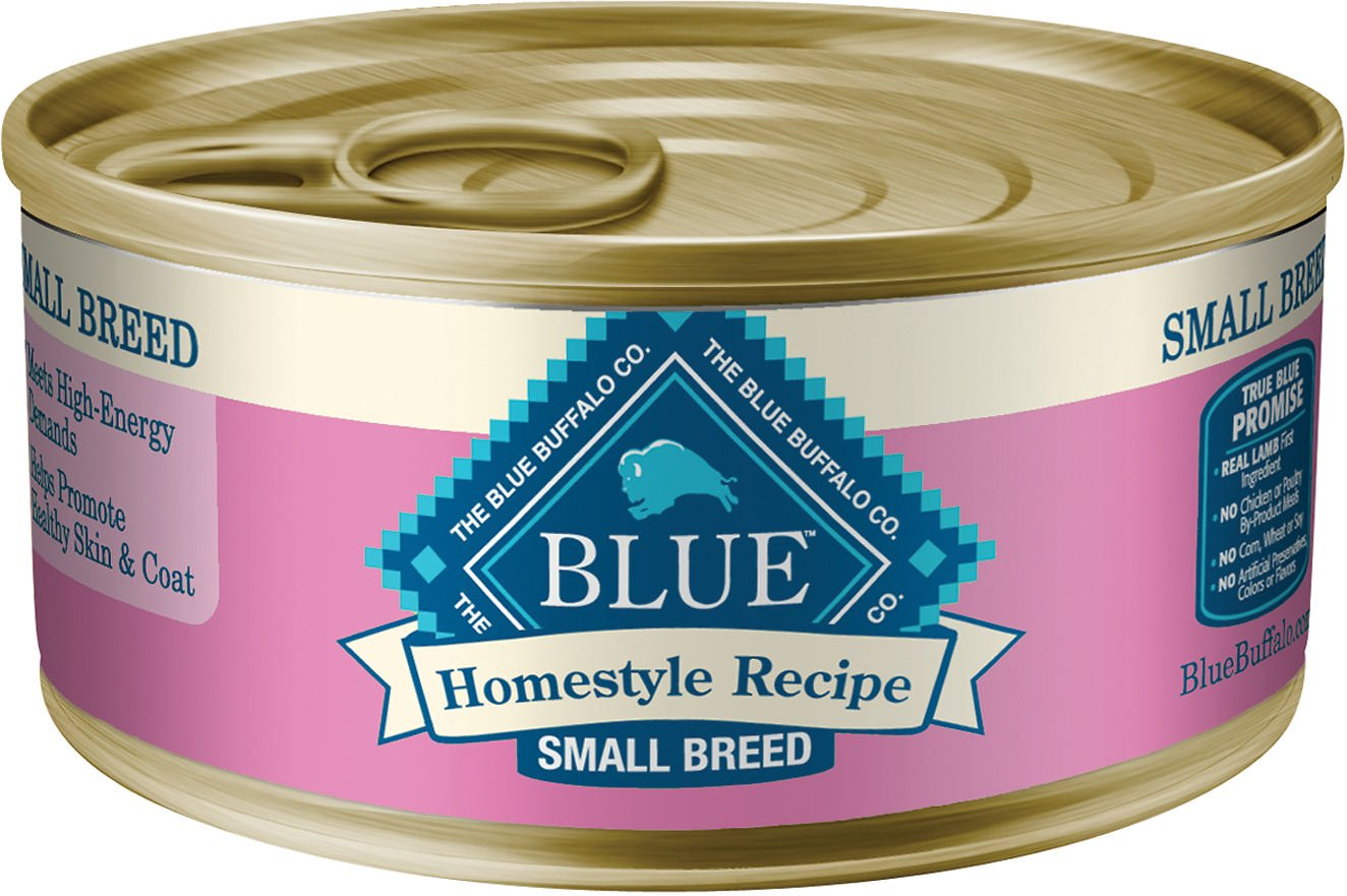 Blue Buffalo Homestyle Recipe Small Breed Chicken Dinner Canned Dog Food, 5.5-oz