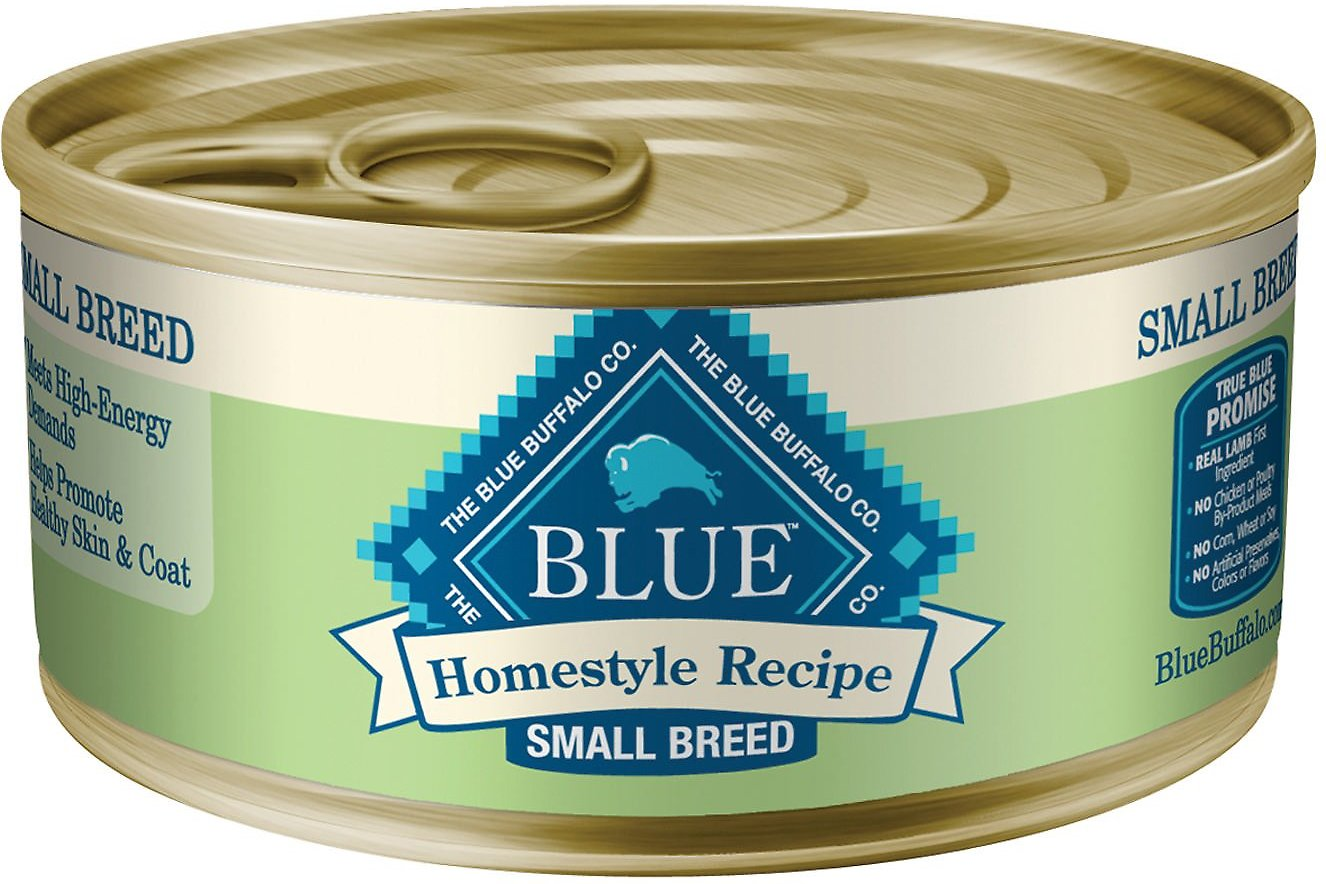Blue Buffalo Homestyle Recipe Small Breed Lamb Dinner Canned Dog Food, 5.5-oz
