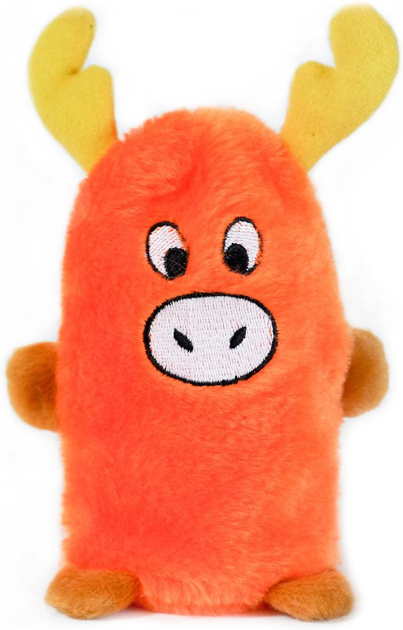 ZippyPaws Squeakie Buddie Moose Plush Dog Toy