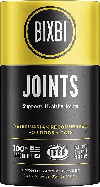 BIXBI Organic Pet Superfood Joints Daily Dog & Cat Supplement, 2.12-oz jar
