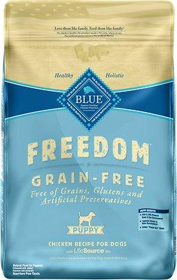 Blue Buffalo Freedom Puppy Chicken Recipe Grain-Free Dry Dog Food, 24-lb bag