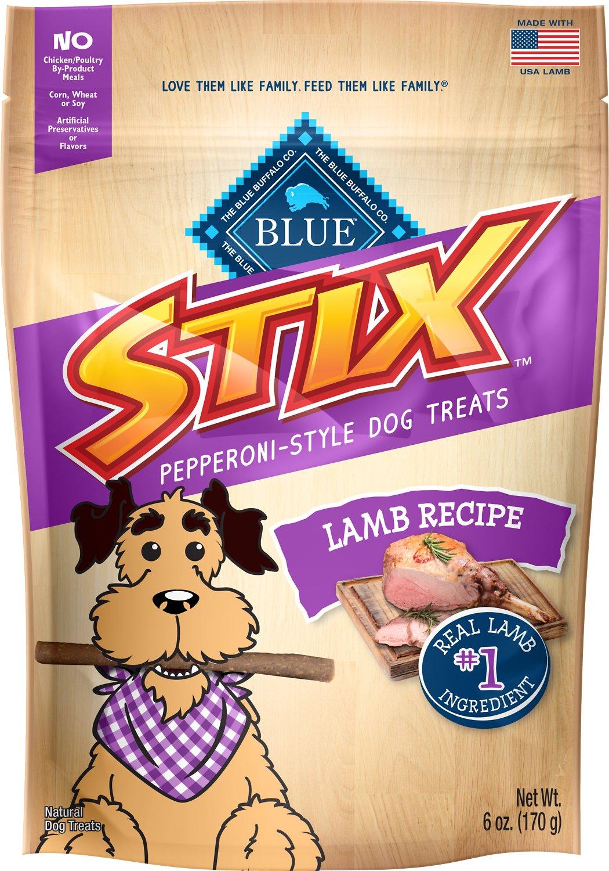 Blue Buffalo Blue Stix Lamb Recipe Pepperoni-Style Dog Treats, 6-oz bag