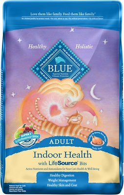 Blue Buffalo Indoor Health Chicken & Brown Rice Recipe Adult Dry Cat Food
