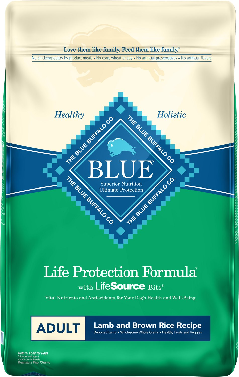 Blue Buffalo Life Protection Formula Adult Lamb & Brown Rice Recipe Dry Dog Food Image