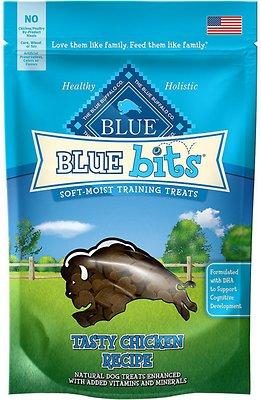 Blue Buffalo Blue Bits Tasty Chicken Recipe Soft-Moist Training Dog Treats