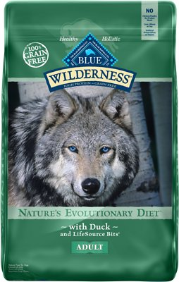 Blue Buffalo Wilderness Duck Recipe Grain-Free Dry Dog Food, 11-lb bag