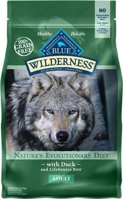 Blue Buffalo Wilderness Duck Recipe Grain-Free Dry Dog Food, 4.5-lb bag