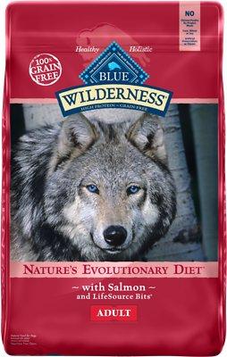 Blue Buffalo Wilderness Salmon Recipe Grain-Free Dry Dog Food, 11-lb bag