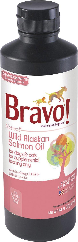 Bravo! Wild Alaskan Salmon Oil Dog & Cat Supplement Image