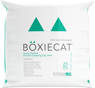 Boxiecat Gently Scented Premium Clumping Clay Cat Litter