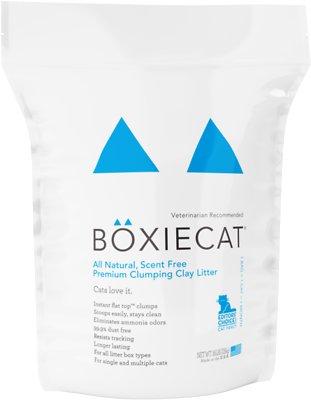 Boxiecat Scent Free Premium Clumping Clay Cat Litter