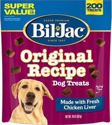 Bil-Jac Original Recipe with Liver Soft Dog Treats, 20-oz bag