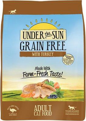 Under the Sun Grain-Free Adult Turkey Recipe Dry Cat Food, 5-lb