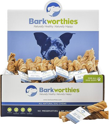 Barkworthies Small Tripe Twist Dog Treats