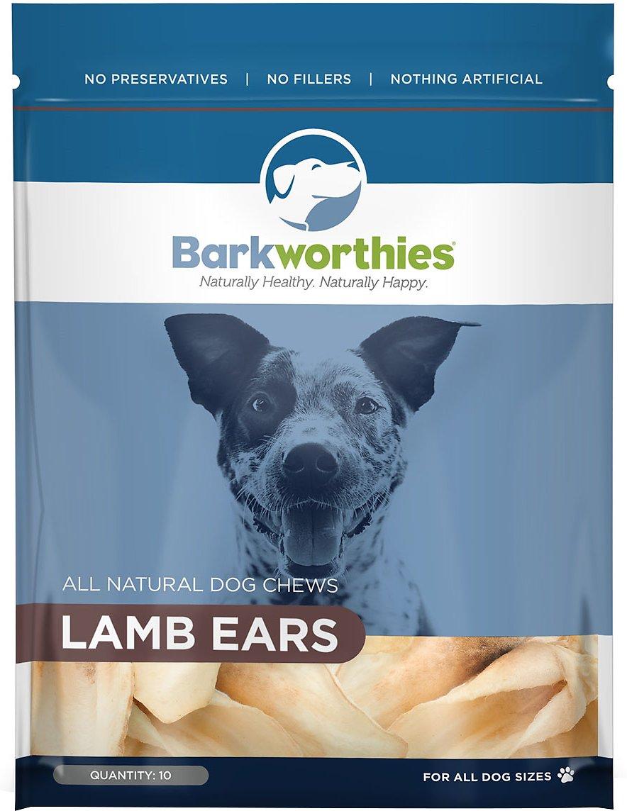 Barkworthies Lamb Ears Dog Treats