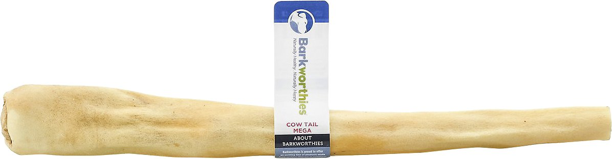 Barkworthies Mega Cow Tails Dog Treats
