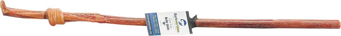 "Barkworthies Odor-Free 18"" Bully Sticks Dog Treats"